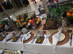 Festive table display | Exclusive Hire & Events | Cape Town