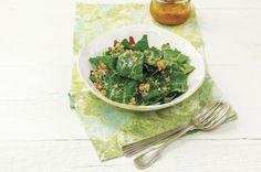 Salada de couve com vinagrete de laranja   Panelinha - Receitas que funcionam