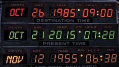 © Universal Pictures October 21, 2015 has been dubbed by pop culture to be Back to the Future Day. Fans of the original Steven Spielberg blockbuster that blasted Marty McFly (Michael J. Fox) back in time to the year 1955 tounwittingly rescue his parents from monotony and save his own future know that it's the first sequel, Back to the Future II, that made 10/21/15 famous. This second installment released in 1989 propelled Marty and the eccentric Doc Brown (Christopher Lloyd) forward in…