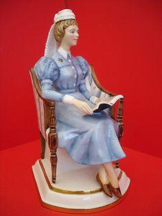 Royal Worcester Figurine,Sister ,the London Hospital