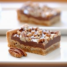 Quite possibly the easiest bar recipe ever. Friends will love you for these Chocolate Toffee Pecan Bars.
