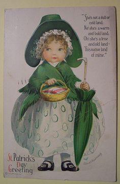Vintage St. Patrick's Day Postcard, via Flickr.