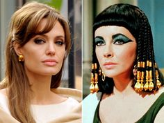Angelina Jolie and Elizabeth Taylor Hudson Nyc, Celebrity Look Alike, Pink Dolphin, Diamond Supply, Jeans And Sneakers, Elizabeth Taylor, Urban Outfits, Celebs, Celebrities