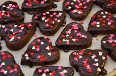 valentine brownies | Valentines Brownies