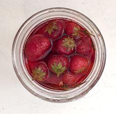 Pickled Strawberries