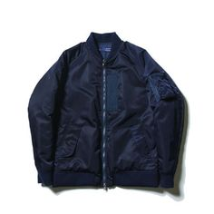 meanswhile / Reversible Twill/Rip MA-1
