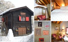 SUPER CUTE! Petit Chalet in St. Niklaus, Switzerland just near Zermatt -- 6 Unique Places I Spent the Night   Camera & Carry On