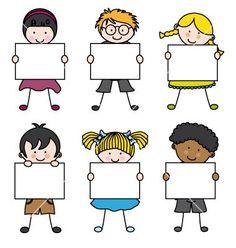 Cute cartoon kids frame vector 1241580 – by sbego on VectorStock® – osztály dekor – cartoon