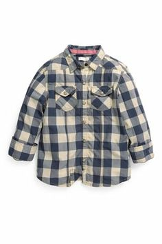 Buy Navy Check Shirt (3-16yrs) from the Next UK online shop
