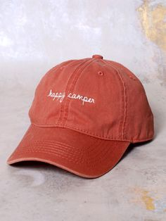 58105d7eb94 Altar d State Happy Camper Canvas Ball Cap - Accessories Happy Campers