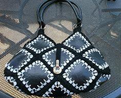 recycled handbags http://amigurumibug.blogspot.be/