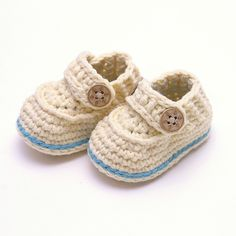 baby shoes- the sailor boot by Ravelry