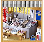 Many different paper dioramas (with construction/ instruction sheets) from Sanwa paper co, all in Japanese, however instructional sheets have clear step-by-step diagrams.
