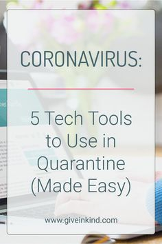 Simplify the complexities of no contact Coronavirus quarantine by reading about these 5 go-to apps and platforms so that people you love and stay connected. Visit Give InKind for recipes, healthy food gift options, and a new way to schedule meals and other support to loved ones in times of need. #coronavirus #quarantine