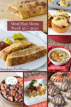 Customizable Ketogenic Low Carb Meal Plans sent right to your email each week!  The best part about my meal planning feature is that if you aren't interested in one of the dinner meals you can swap it out for something else! You can even change serving sizes and the shopping list will adjust. | Sugar Free Mom Low Carb Recipes, Keto Recipes, Dinner Recipes, Healthy Recipes, Low Carb Meal Plan, Low Carb Keto, Mexican Breakfast Casserole, Make Ahead Meals, Gluten Free Desserts