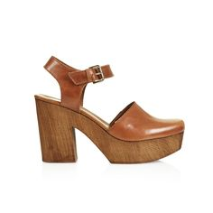 The '70s-Style Clog: Topshop leather wooden clog.