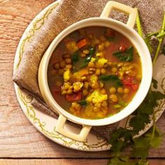 Slow-Cooker Moroccan Lentil Soup Recipe