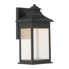 Quoizel Livingston 13.5-in H Imperial Bronze LED Outdoor Wall Light