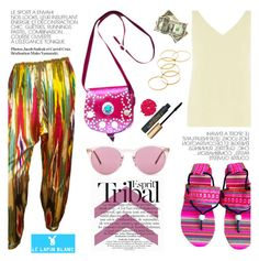 """Esprit tribal"" by helenevlacho ❤ liked on Polyvore featuring Dorothy Perkins, ESPRIT, Oliver Peoples and lelapinblanc"