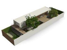 Casa 10x38,Cortesia de CR2 Arquitetura