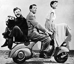 Classic. Audrey Hepburn, Gregory Peck, and that other funny guy.