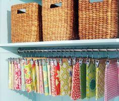 Fabric organizing idea!
