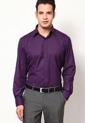 757959b3c09 Purple Men Shirts Formal - Buy Purple Men Shirts Formal online in India