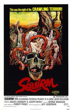 Squirm (1976) - Review, rating and Trailer