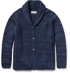 Ron Herman wool & cotton shawl collar cardigan