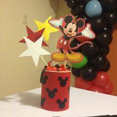 Centro de Mesa Mickey Mouse