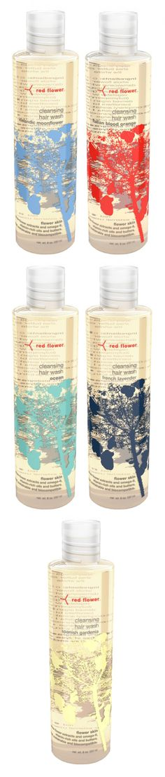 Red Flower Hair Washes | USA PD
