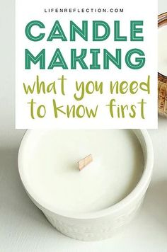 Your Guide to Natural Soy Candle Making: How to scent candles and how much wax to use, what temperature to melt wax. it's all here making for beginners diy Soy Candle Making, the Easy Way Natural Candles, Soy Wax Candles, Candle Wax, Oil Candles, Diy Candle Melts, Diy Marble, Homemade Scented Candles, Diy Candles Easy, How To Make Candels
