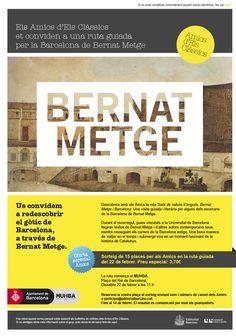 Redescobrim el gòtic de Barcelona, a través de Bernat Metge.