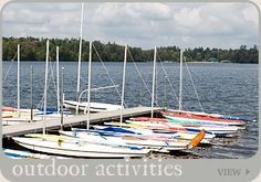 outdoor activities at Eagles Mere Lake