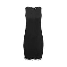 """Sukienka z głębokim wycięciem na plecach to moja tegoroczna propozycja sukienki typu """"mała czarna"""". To symbol i must-have w letnim, wakacyjnym wydaniu. Wykończona na dole delikatną koro…"""