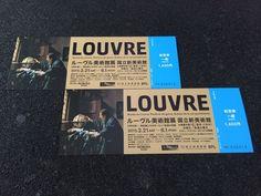 ルーヴル美術館展 Graphic Design Art, Book Design, Minions, Ticket Design, Louvre, Name Cards, Stationery, Layout, Graphics