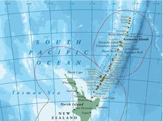 """New Zealand Will Create A Massive Ocean Sanctuary Kermadec Ocean Sanctuary, announced at the U.N. General Assembly, preserves """"one of the few relatively unspoiled areas of ocean on Earth."""""""