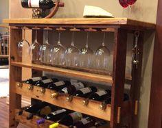 Wine Friends Home - Home Made Wine Rack - -