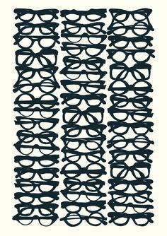 Glasses. I had such a huge collection of just frames that i collected from middle school till high school..