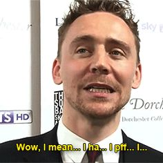 This is my exact response when someone asks me what my favorite thing about Hiddles is...