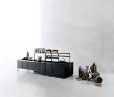 zeilen- küche aus edelstahl k20 by boffi design norbert wangen ... - Boffi Küchen Preise