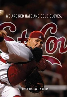 Yadier Molina is a 5-in-a-row Gold Glove winner!