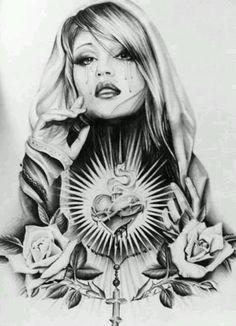 Latino flash art