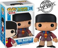 Buy The Beatles - Paul Mccartney Funko Pop! Vinyl from Pop In A Box US, the Funko Pop Vinyl shop and home of pop subscriptions. Pop Vinyl Figures, Funko Pop Figures, Paul Mccartney Beatles, Queen Brian May, Pop Figurine, Pop S, Pop Collection, Pop Dolls, Yellow Submarine