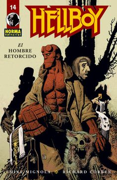 Hellboy : el hombre retorcido / guión, Mike Mignola ; dibujo, Richard Corben