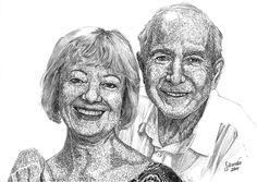 Sibambo Portraits | Fineliner Pen Drawing Fineliner Pens, Ballpoint Pen, How To Draw Hands, Portrait, Drawings, Art, Art Background, Headshot Photography, Kunst