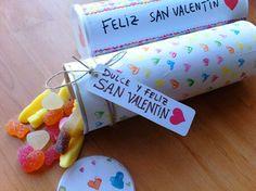 Regalo casero, caja para dulces DIY