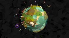 Element - A visually stunning realtime strategy space game