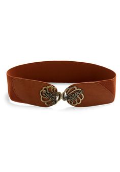 I really should get one of these waist-cincher belts in brown.