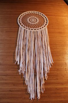 Grote dream catcher muur opknoping met door TheWovenDreamFactory